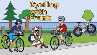 Cycling with Frank, coming soon!!